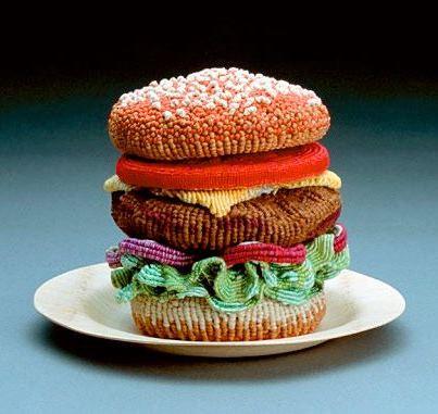 Burger by Ed Bing Lee