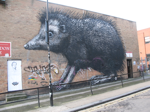 The hog of brick lane