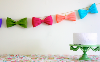 Bow Bunting!!