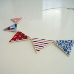 Bunting necklace from Folksy.com
