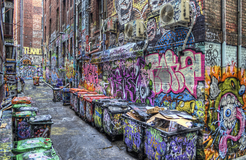 Rutledge Lane before the blue.  Photography by David Russell