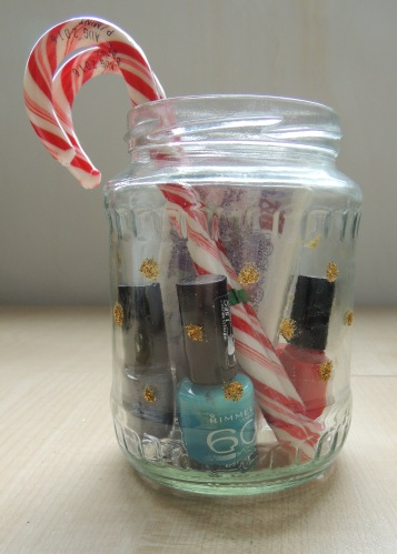 12 days of craftmas glitter jar