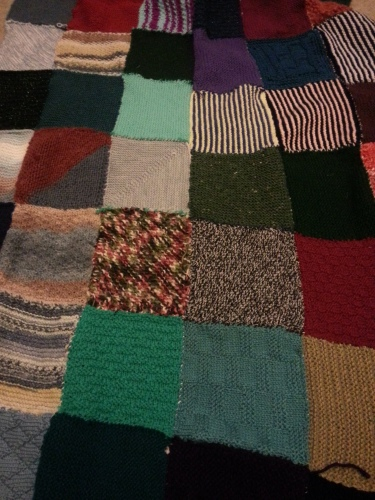 Blanket number two complete!