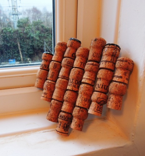 Cork Heart tutorial