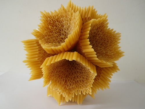 Pasta Art with a difference!  From http://sineadfoleylsad.blogspot.co.uk/