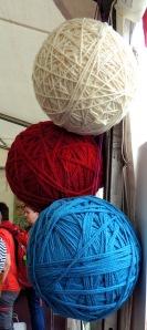giant balls of wool