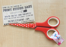 print stitch bake scissors