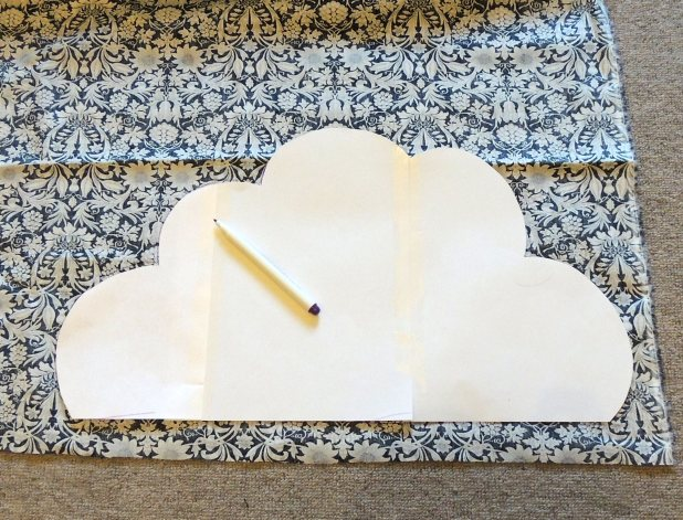 Cloud cushion templates