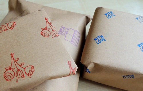 Wrapping paper DIY tutorial