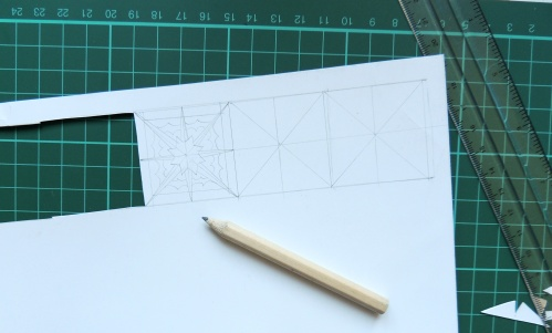 papercut drawing templates