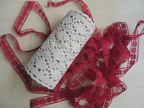 lace and ribbon