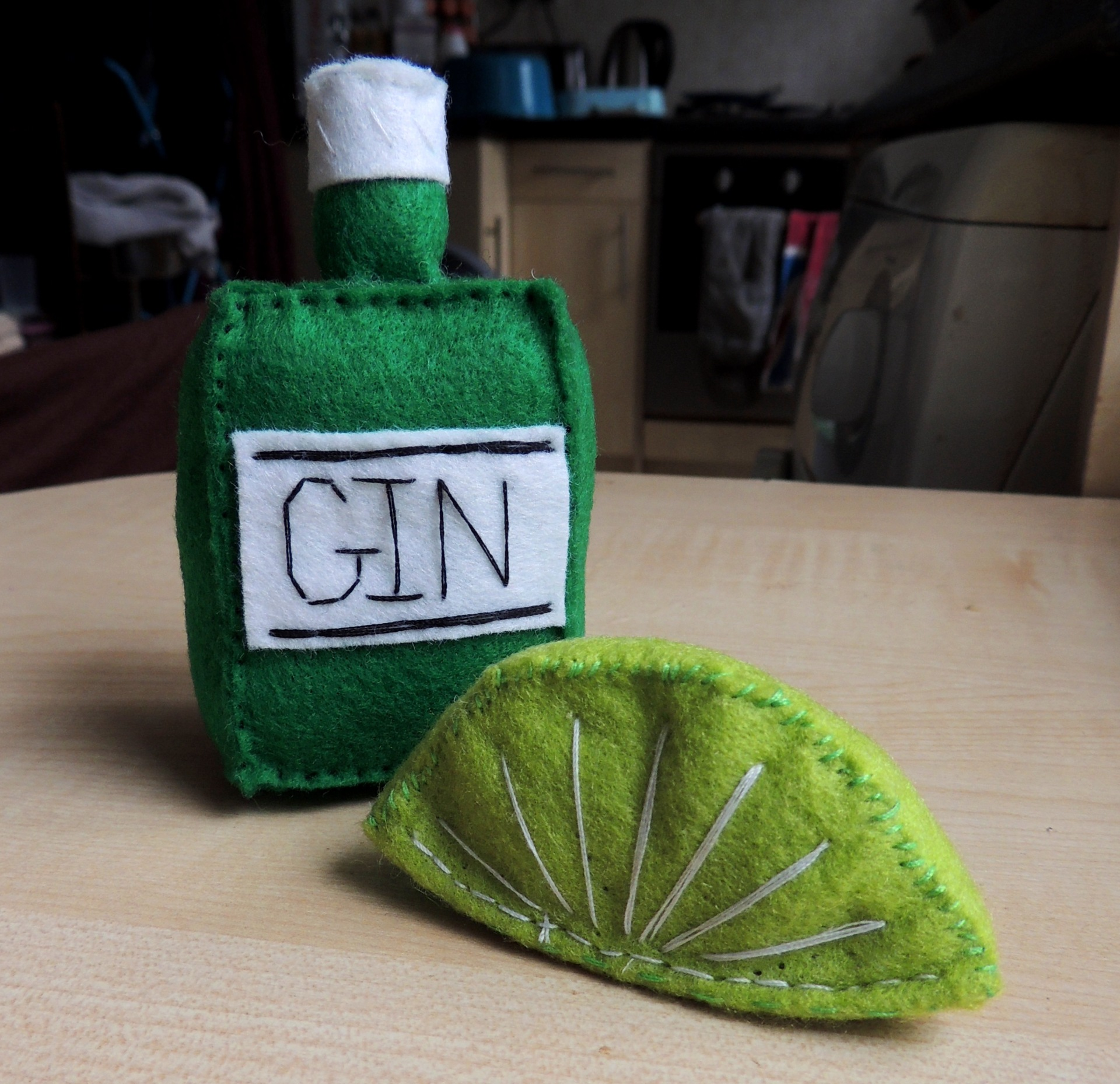 felt gin and felt lime