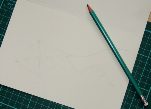 papercut card design
