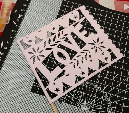 papercut at handmade fair Crafternoon Cabaret Club