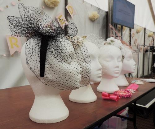 mannequin heads at handmade fair Crafternoon Cabaret Club