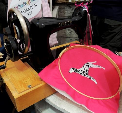 art sea craft sea dalmation at handmade fair Crafternoon Cabaret Club