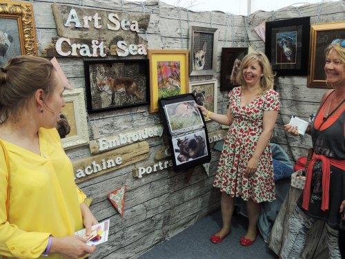 art sea craft sea at handmade fair Crafternoon Cabaret Club