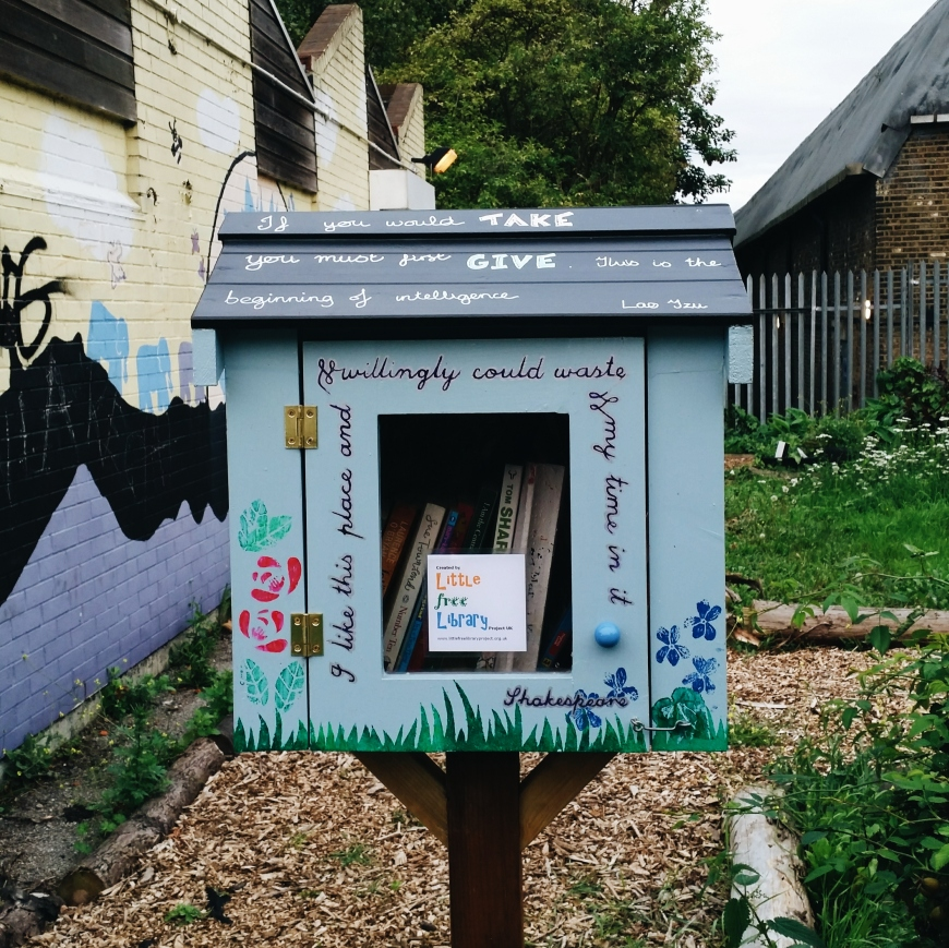 Little Free library finsbury park