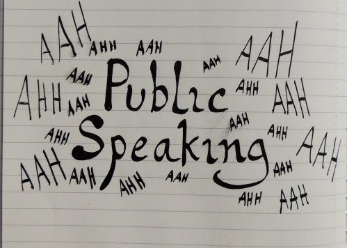 public speaking Crafternoon Cabaret Club