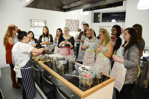 baking with debenhams Crafternoon Cabaret Club