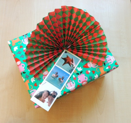 christmas wrapping phototags Crafternoon Cabaret Club 2