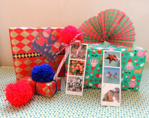 christmas wrapping phototags Crafternoon Cabaret Club 4