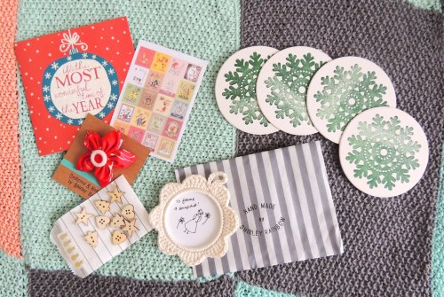 craft blog club secret santa