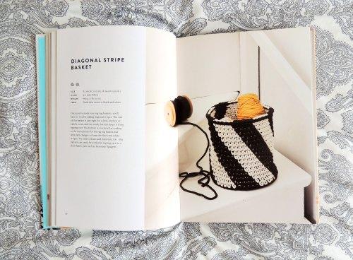 Molla Mills modern crochet basket