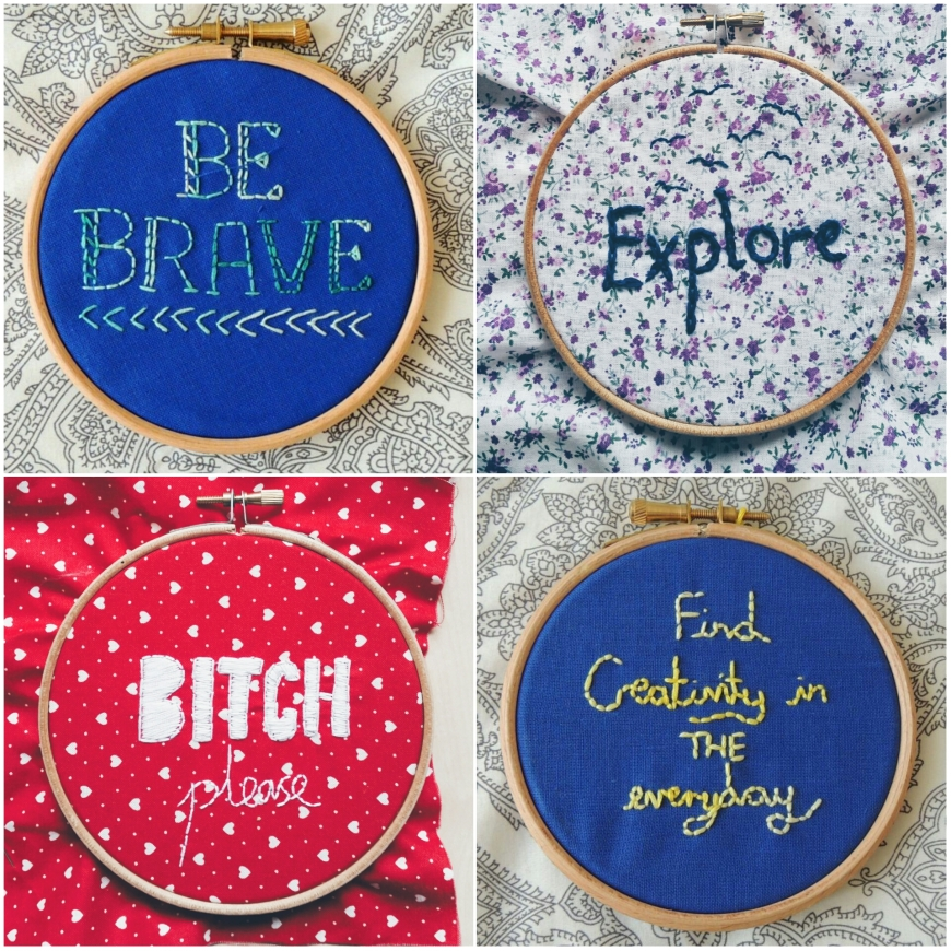 modern embroidery crafternoon cabaret club