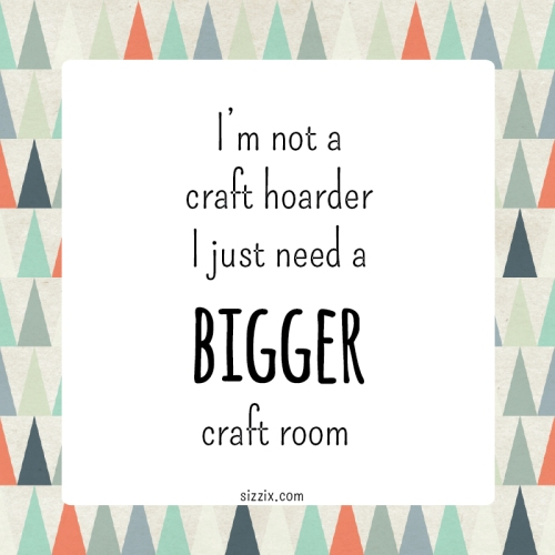 sizzix craft hoarder