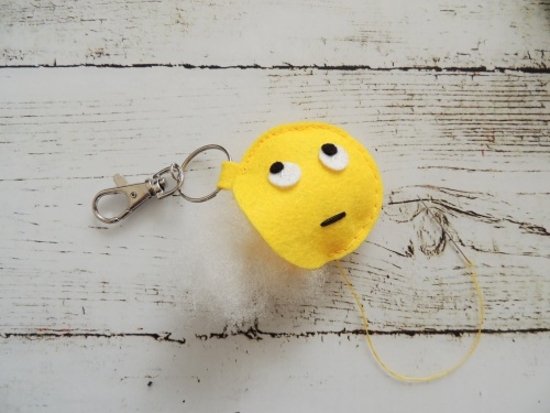emoji keyring Crafternoon Cabaret Club