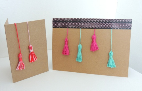 tassel cards Crafternoon Cabaret Club